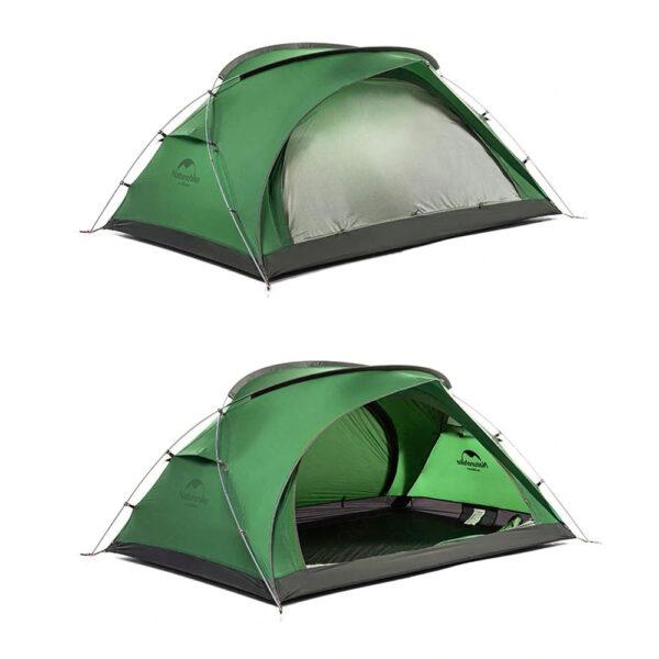 چادر دو نفره نیچرهایک مدل  Bear-UL2 Ultra Light 2 Men Tent