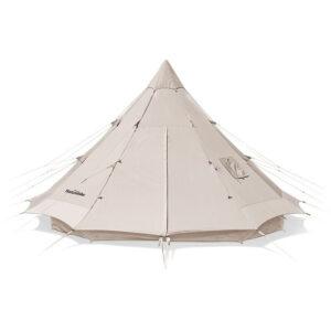 چادر 4 نفره نیچرهایک مدل Brighten Cotton Pyramid Large Tent